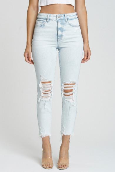 Mom jean super taille haute...