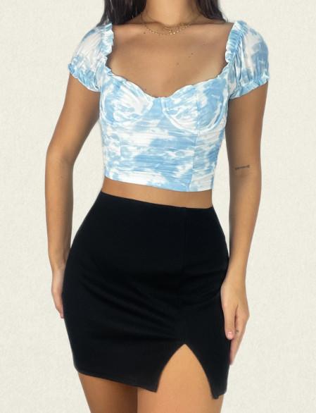 Crop top corset