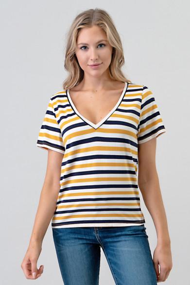 T-shirt à rayure
