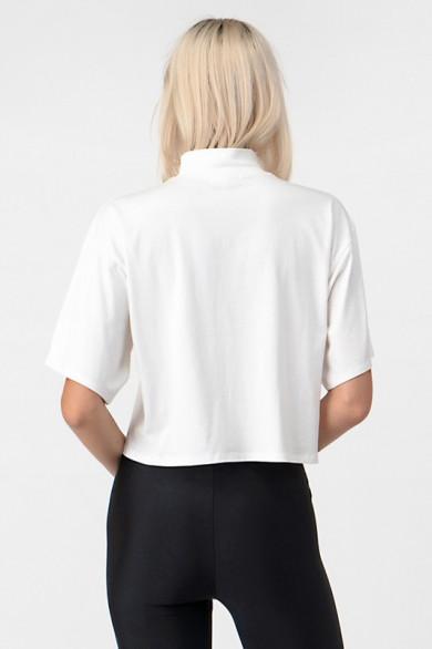 Tee-shirt basique à col...